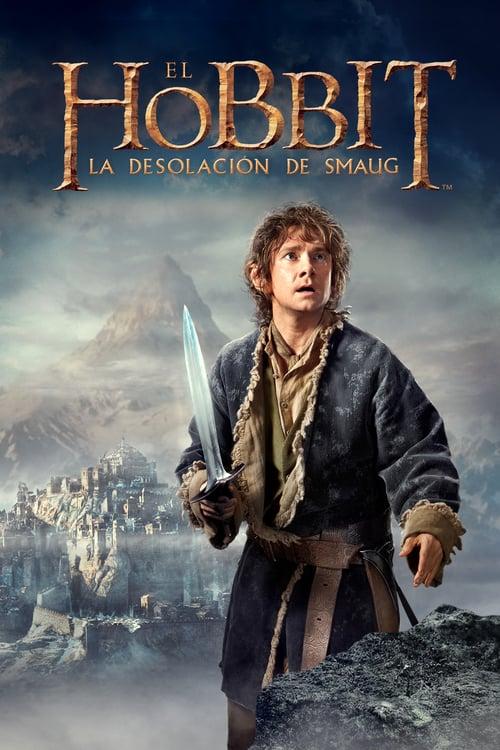 Póster película El hobbit: La desolación de Smaug