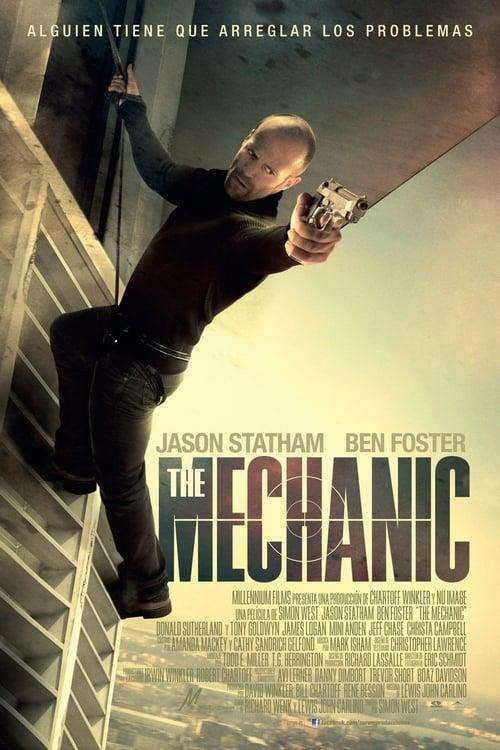 Póster película The Mechanic