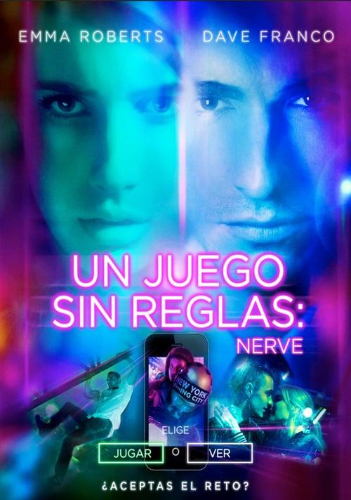 Póster película Nerve: Un juego sin reglas