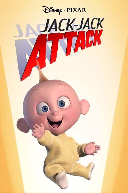 Póster película Jack-Jack ataca