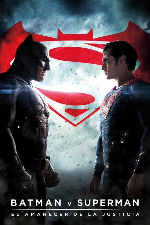 Póster película Batman v. Superman: El amanecer de la Justicia