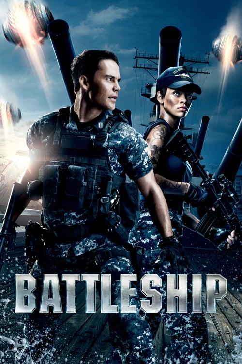 Póster película Battleship
