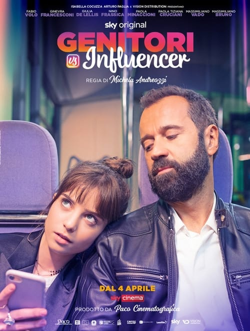 Genitori vs influencer poster