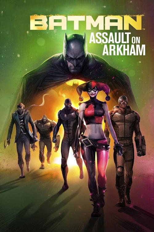 Póster película Batman: El asalto de Arkham