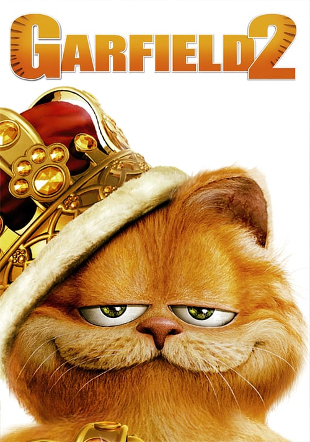 Póster película Garfield 2