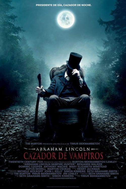 Abraham Lincoln: cazador de vampiros poster