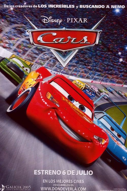 Póster película Cars