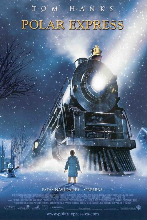 Póster película Polar Express