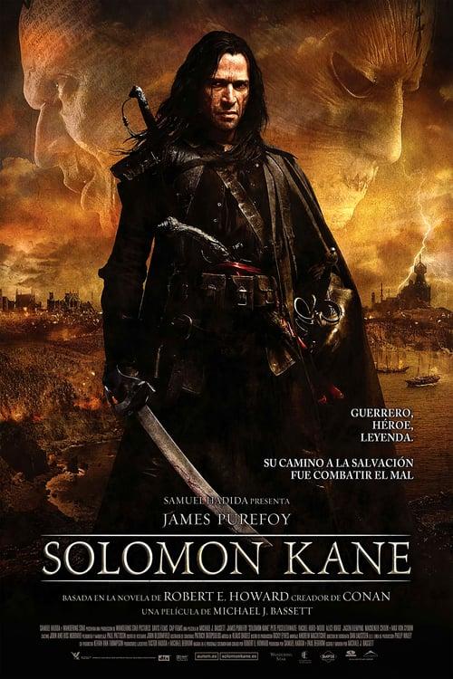 Póster película Solomon Kane