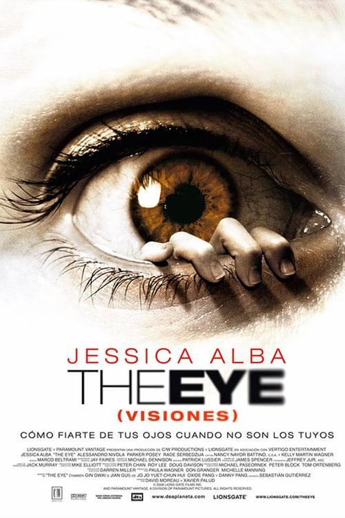 Póster película The Eye (Visiones)