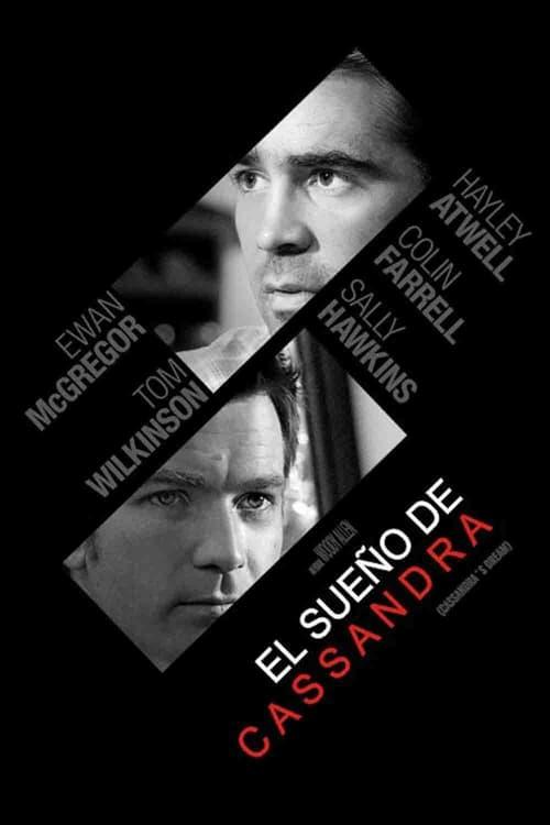 Póster película El sueño de Casandra