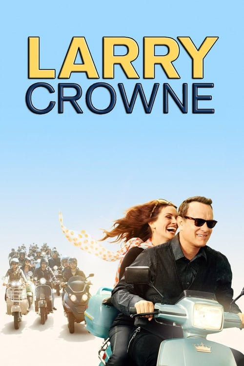 Póster película Larry Crowne, nunca es tarde