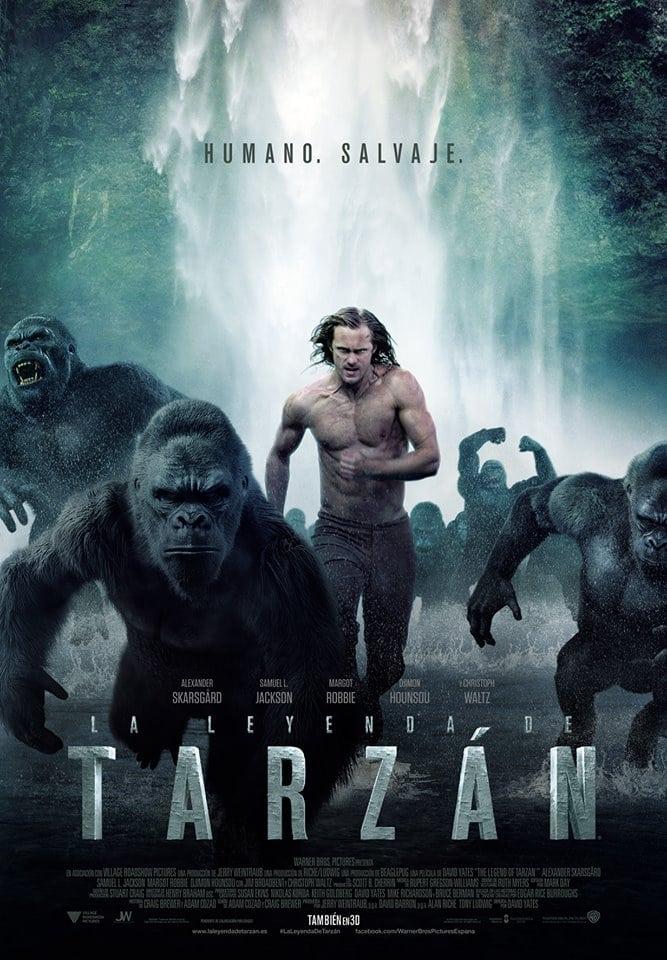 Póster película La leyenda de Tarzán