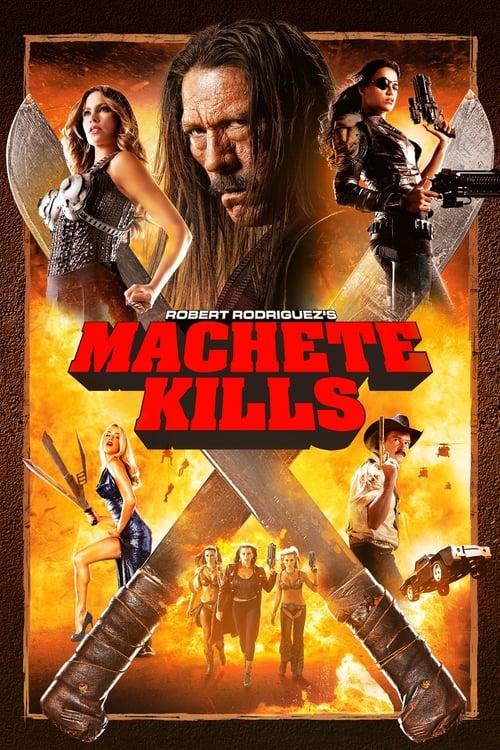 Póster película Machete Kills