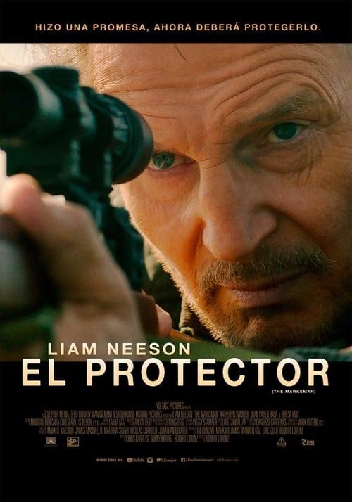 Póster película El protector