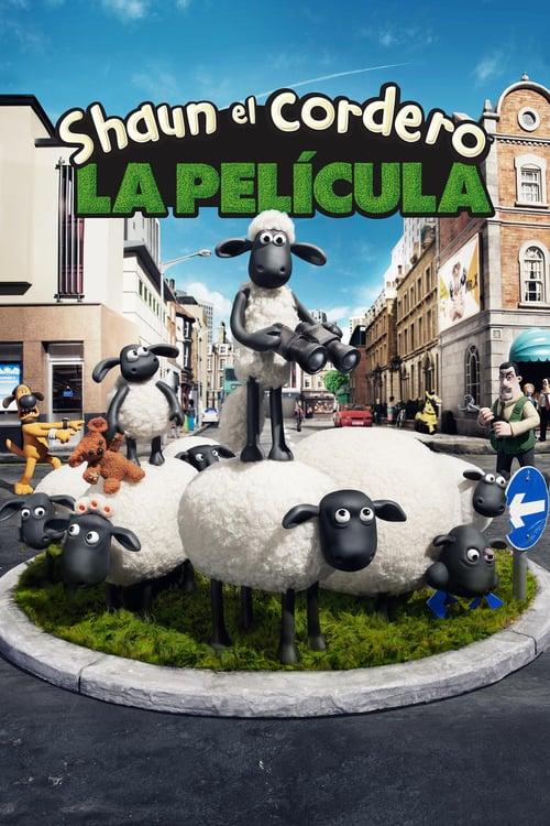 La oveja Shaun: La película poster