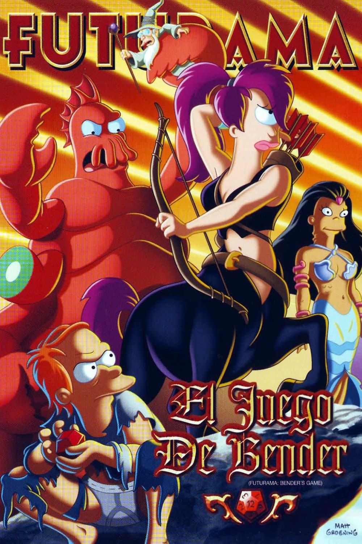 Futurama: El juego de Bender poster