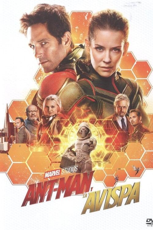 Póster película Ant-Man y la Avispa