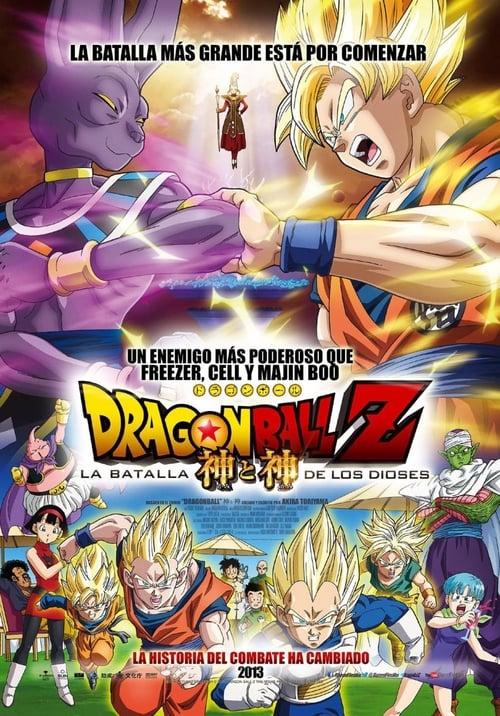 Dragon Ball Z: La batalla de los dioses poster