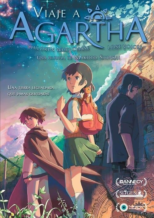 Póster película Viaje a Agartha