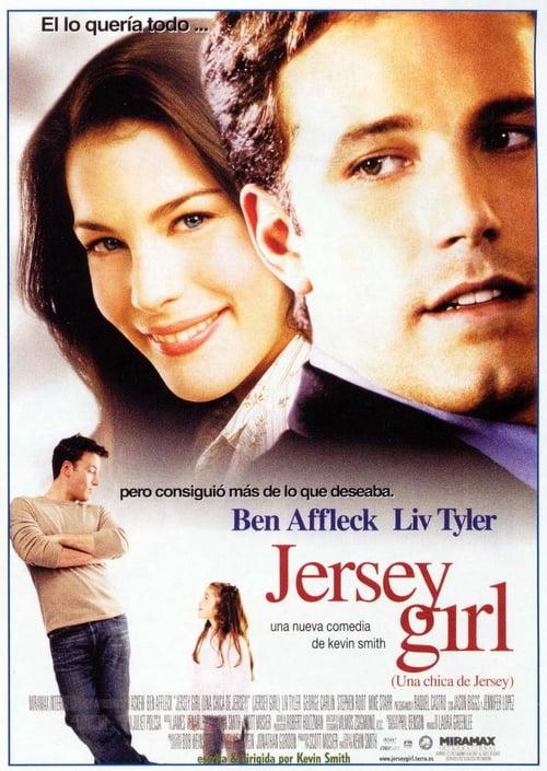 Una chica de Jersey poster