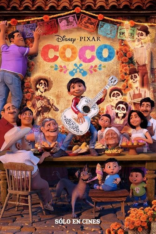 Póster película Coco