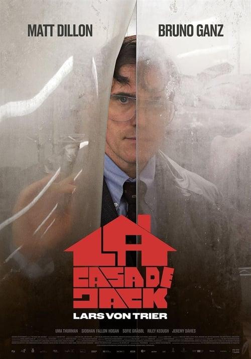 Póster película La casa de Jack