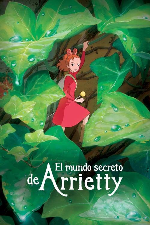 Póster película Arrietty y el mundo de los diminutos