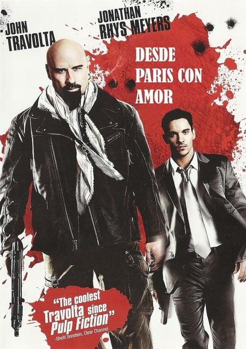 Póster película Desde París con amor