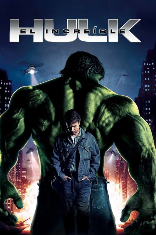 El increíble Hulk poster