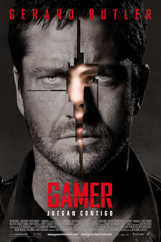 Póster película Gamer
