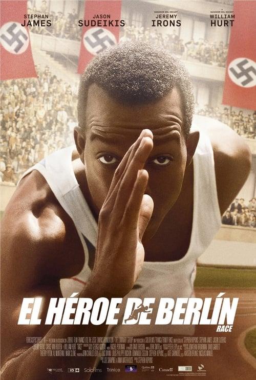 Póster película El héroe de Berlín