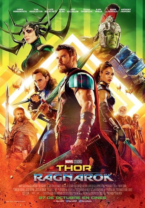 Póster película Thor: Ragnarok