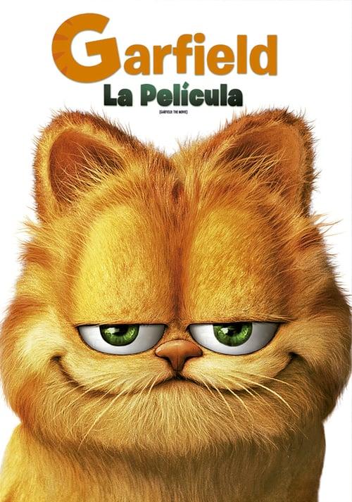 Póster película Garfield: la película