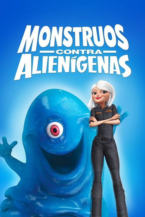Monstruos contra alienígenas poster