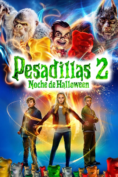 Pesadillas 2: noche de Halloween poster
