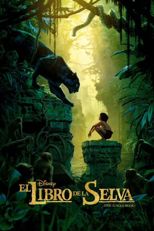 Póster película El libro de la selva