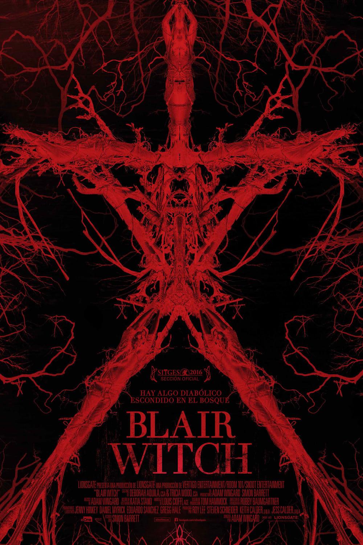 Póster película Blair Witch