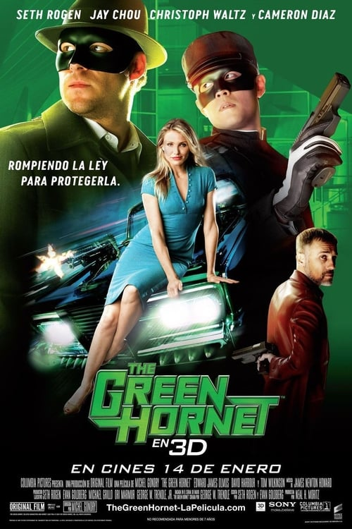 The Green Hornet (El Avispón Verde) poster