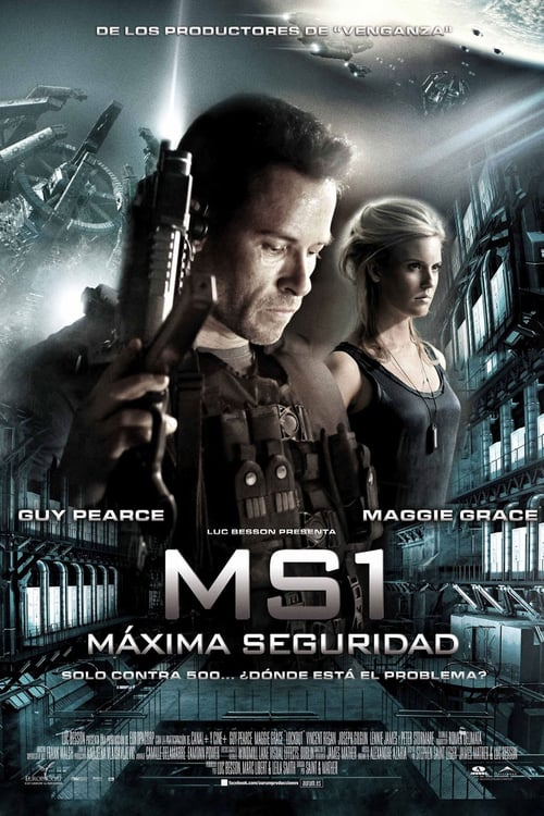 Póster película MS1: Máxima seguridad