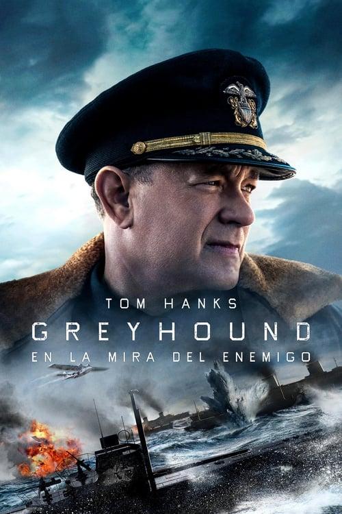 Póster película Greyhound: enemigos bajo el mar