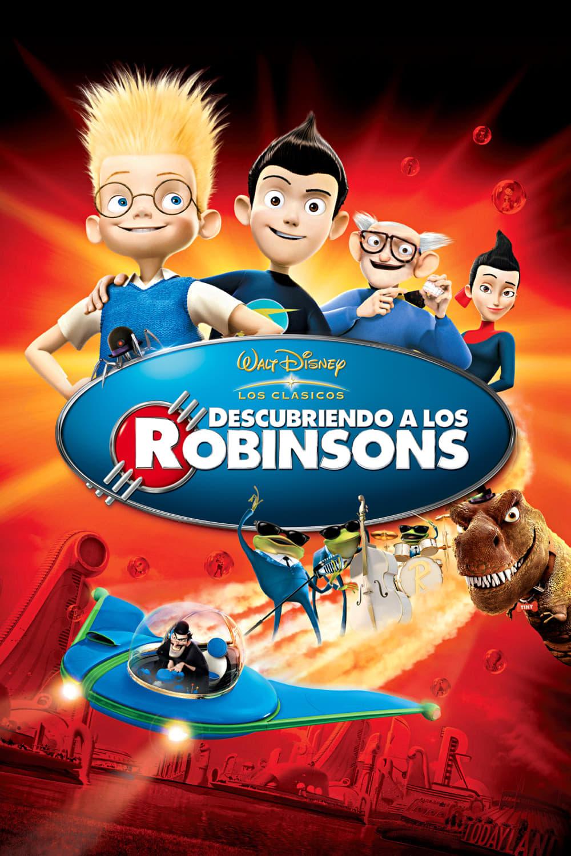 Póster película Descubriendo a los Robinsons