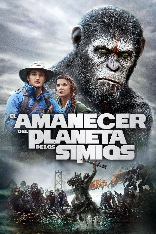 Póster película El amanecer del planeta de los simios