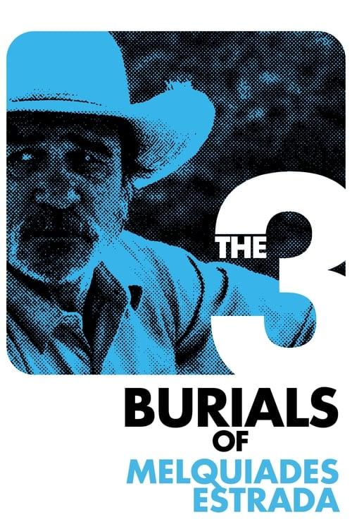 Póster película Los tres entierros de Melquiades Estrada