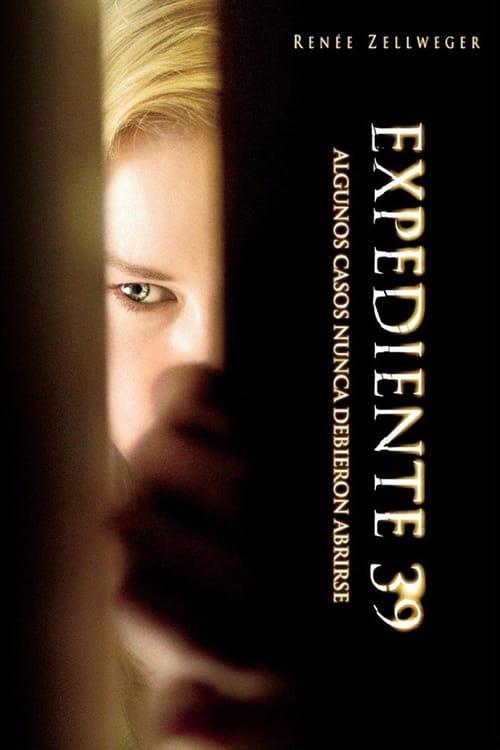 Póster película Expediente 39