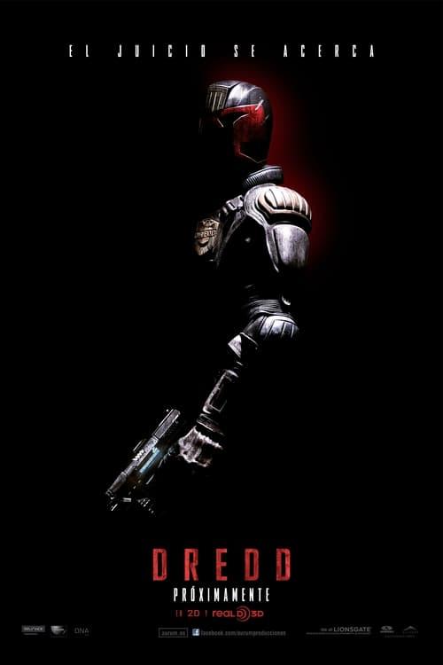 Póster película Dredd