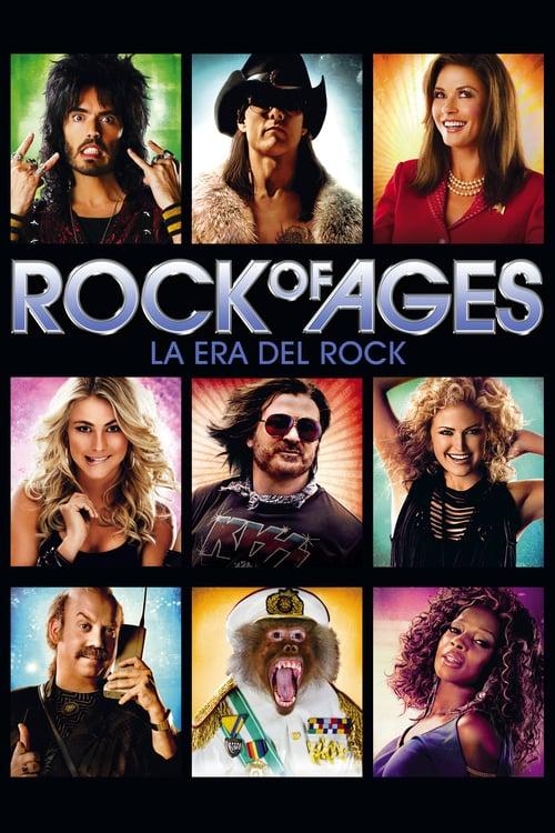 Rock of Ages: La era del rock poster