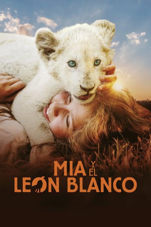 Mia y el león blanco poster