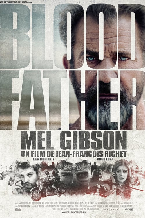 Póster película Blood Father