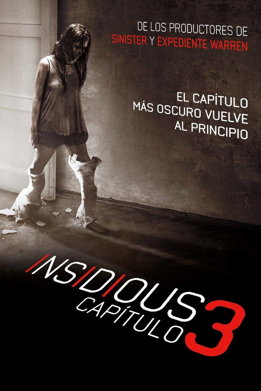 Póster película Insidious: Capítulo 3